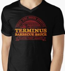 Flavor First Always Men's V-Neck T-Shirt