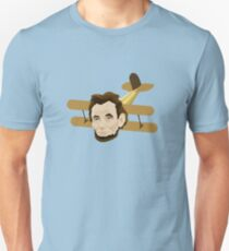 A is for Abraham Lincoln Airplane T-Shirt
