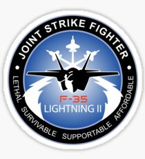 F-35 Lightning II Program Logo Sticker