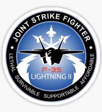 F-35 Lightning II Program Logo Sticker
