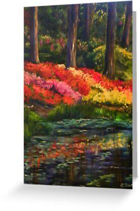 """""""Beside Still Waters"""" by Lynn  Abbott"""