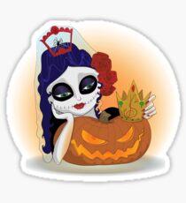 Salvacion Sombrío , damas de los muertos Sticker