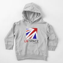 Logo of The United Kingdom Space Agency Toddler Pullover Hoodie
