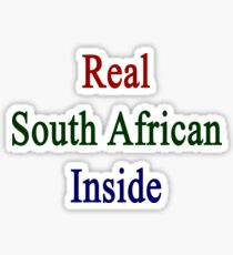 Real South African Inside Sticker