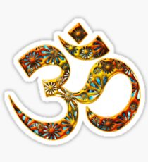 OM - Mantra - Buddhism - Symbol of spiritual strength  Sticker