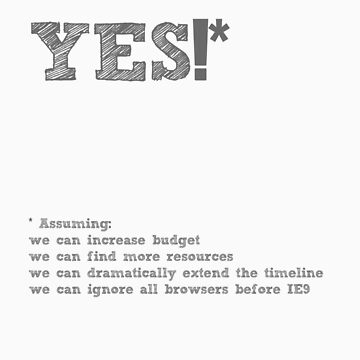 YES* by milts