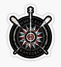 The Wanderers (STICKER - BLACK) Sticker
