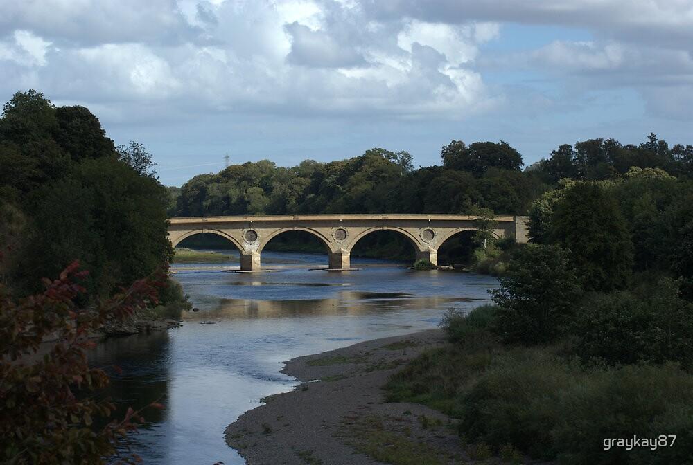 Coldstream Bridge by graykay87