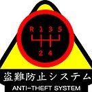 JDM - Anti-Theft System (Pattern 2) (dark) by ShopGirl91706