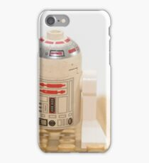 Star wars action figure R2D2 robot iPhone Case/Skin