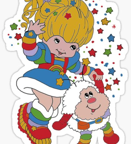 Rainbow Brite- Nostalgia Sticker