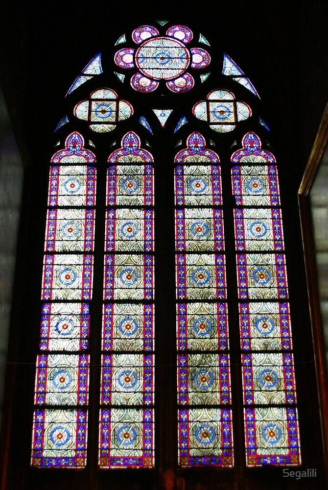 People are like stained-glass windows by Segalili