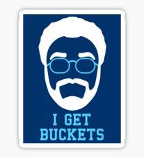 I Get Buckets - Stickers Sticker
