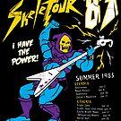 Skeletour '83 - sticker by TedDastickJr
