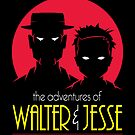 Walt and Jesse: The Animated Series Sticker by RyanAstle