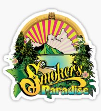 Smokers Paradise Pegatina