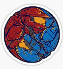 The Tao of RvB - Sticker Sticker