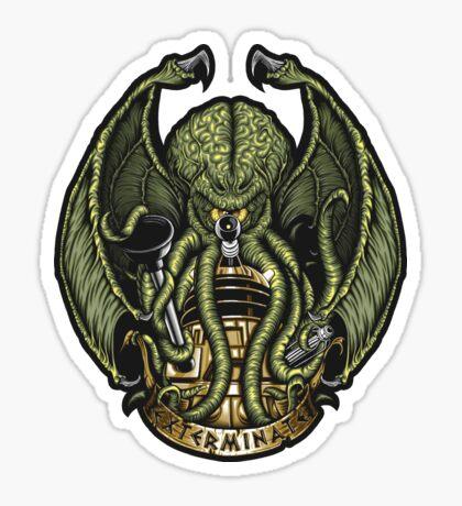 Cthulhu Exterminates - Sticker Sticker