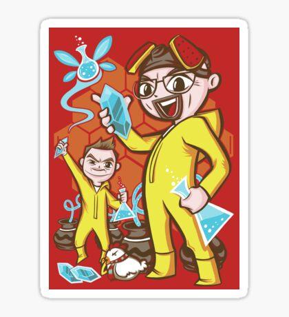 Legend of Heisenberg - Sticker Sticker