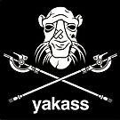 Yakass (STICKER) by mikehandyart