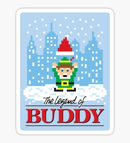 The Legend of Buddy (STICKER) Sticker