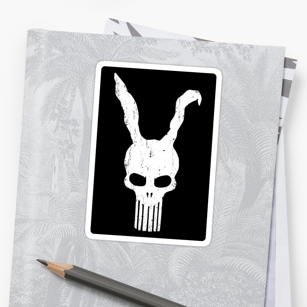 The Bunnisher (STICKER) by mikehandyart