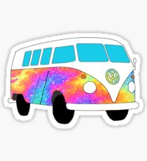 VW Oil Hippie Bus! Sticker