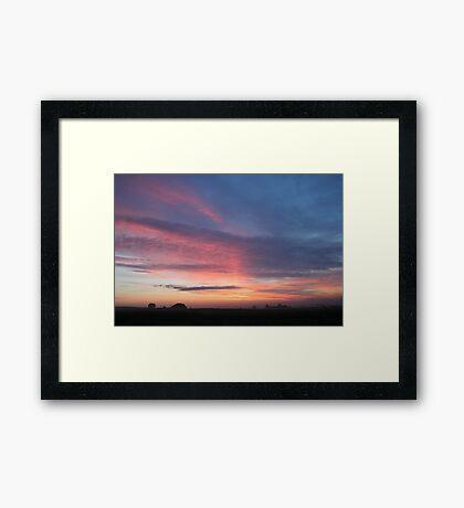 Untouched Dawn Framed Print