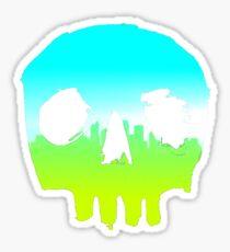 SKYLINE SKULL #3 Sticker