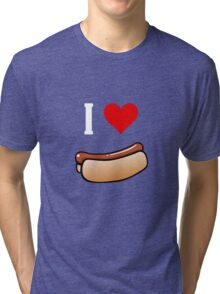 I love hot dogs Tri-blend T-Shirt