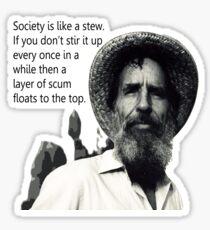 Abbey on Society Sticker