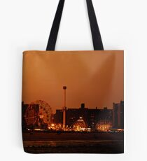 Coney Island at Sunset - Brooklyn - New York City Tote Bag
