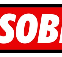 Disobey (Text) Sticker