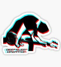 Deep Sleep Operator Bassist Sticker