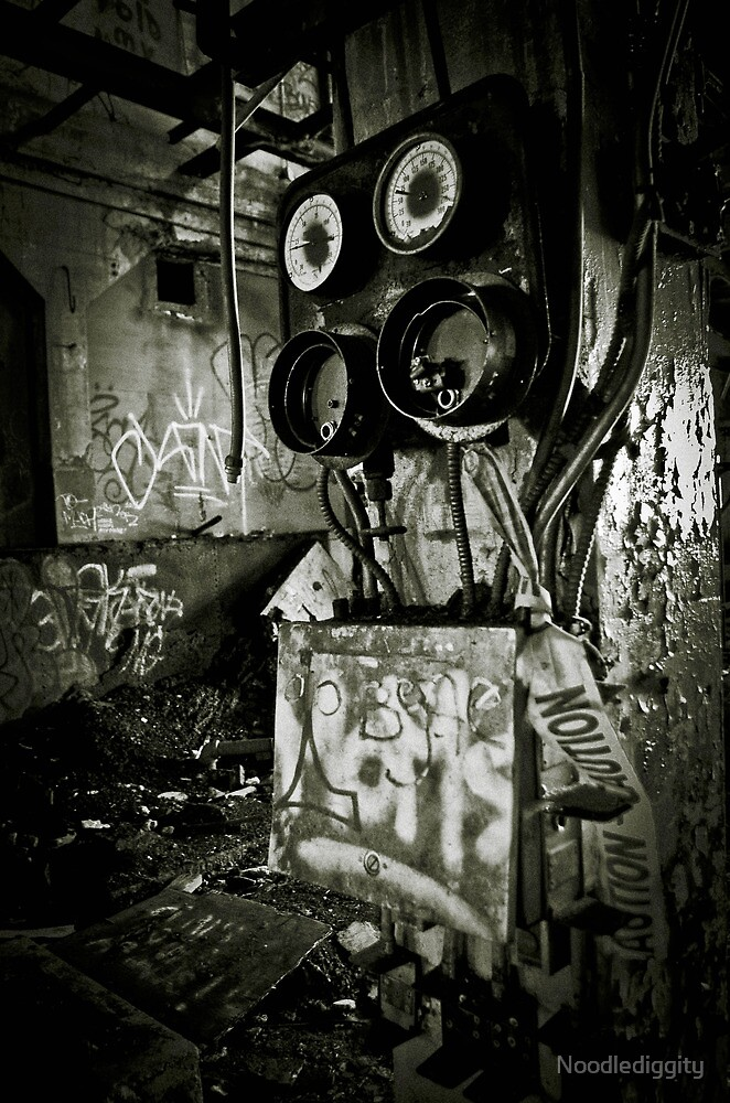 Industrial Abandonment by Noodlediggity