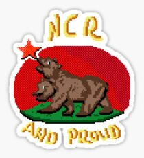 NCR And Proud Sticker