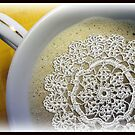 Coffee with lace by Olga