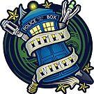 Timey Wimey (sticker) by Ameda