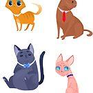 Kittens by Ennemme