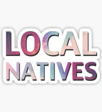 Local Natives Sticker