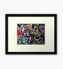 breasts & fruits.... a combination Framed Print