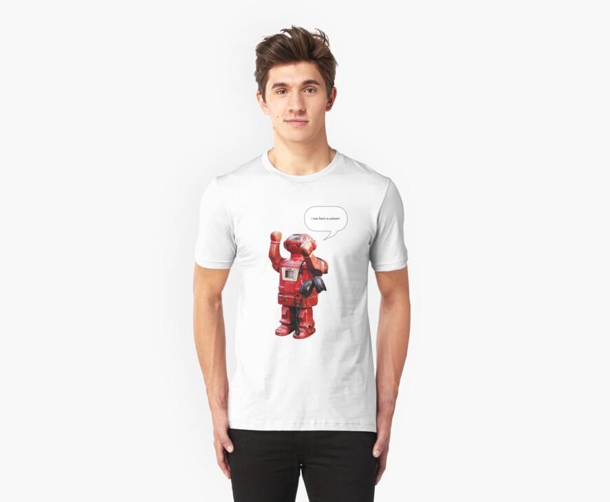 Bibot Robot- i was born a unicorn by Rem N
