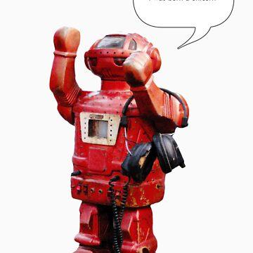 Bibot Robot- i was born a unicorn by RevitalNeo