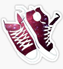 Galaxy Shoes Sticker