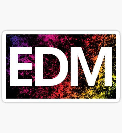 EDM Sticker