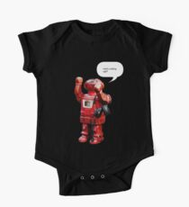 Bibot Robot- what's cooking ugly? One Piece - Short Sleeve