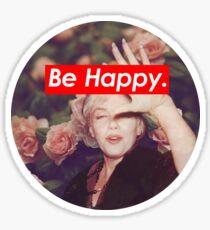 Marilyn Monroe. Sticker