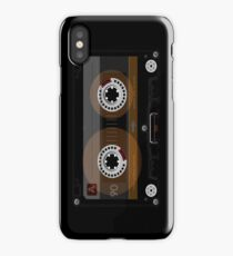 Retro Music Cassette Tape iPhone Case