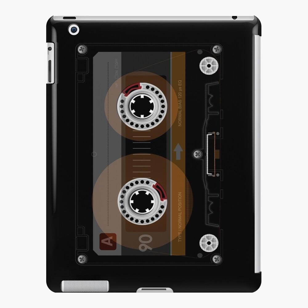 Cinta de cassette de música retro Funda y vinilo para iPad