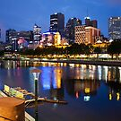 Melbourne At Night by Joel McDonald